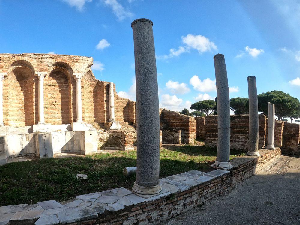 Ostia Antica, punto di arrivo del Sentiero Pasolini, foto di Giorgia Cadinu di Rome Personal Guide