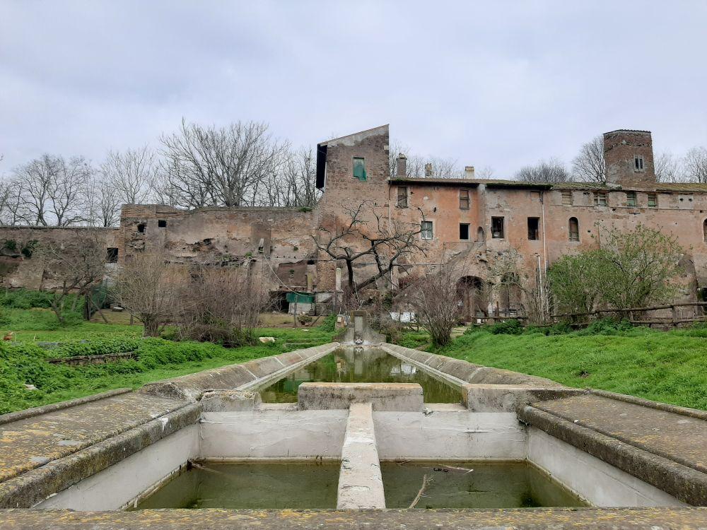 Casale della Vaccareccia nella Valle della Caffarella vicino a Roma, foto Claudia Pettinari
