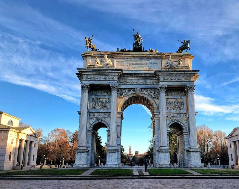 Arco della Pace di Milano, foto Barbara Bier