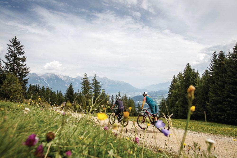 Bikepark a Innsbruck, foto Innsbruck Tourismus / Erwin Haiden