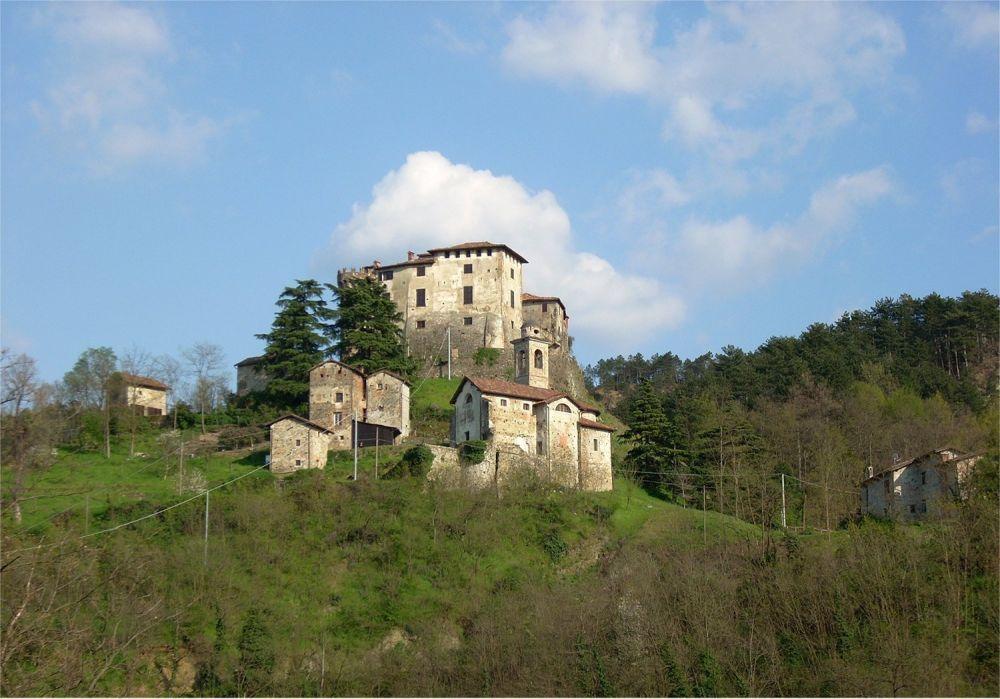 Castello Casaleggio Boiro, foto Raffaella Massa