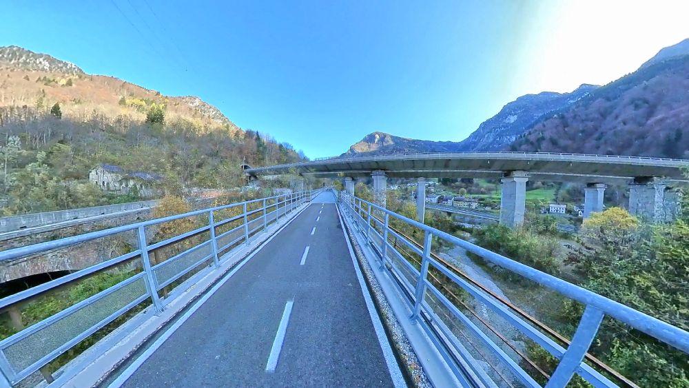 Tratta della Ciclovia Alpe Adria da Tarvisio a Venzone, foto Federica Canton
