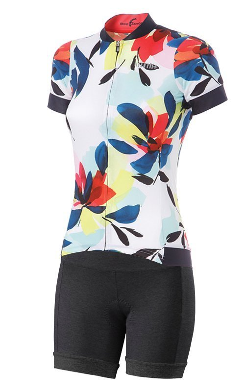 Abbigliamento da bici maglia RH+ e pantaloncini Shasta