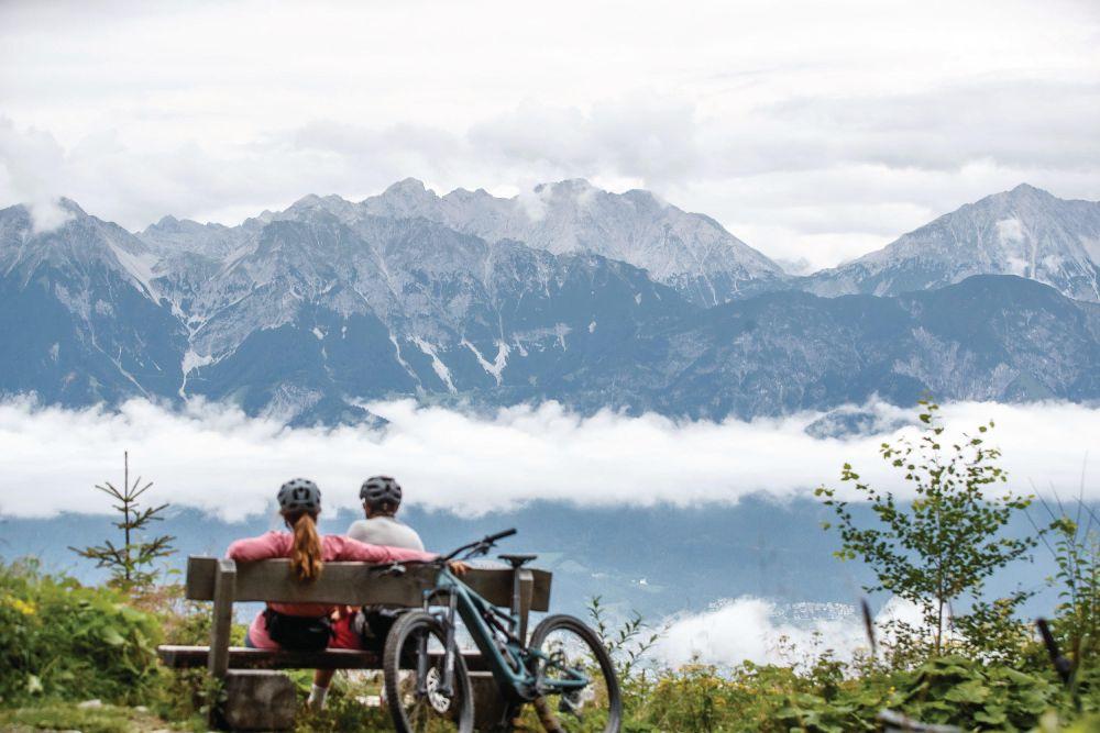 E-Bike-Tour Patscherkofel, foto Innsbruck Tourismus / Erwin Haiden