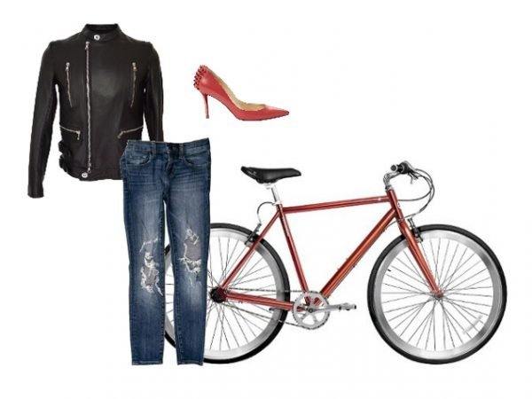 Outfit per andare in bicicletta in città